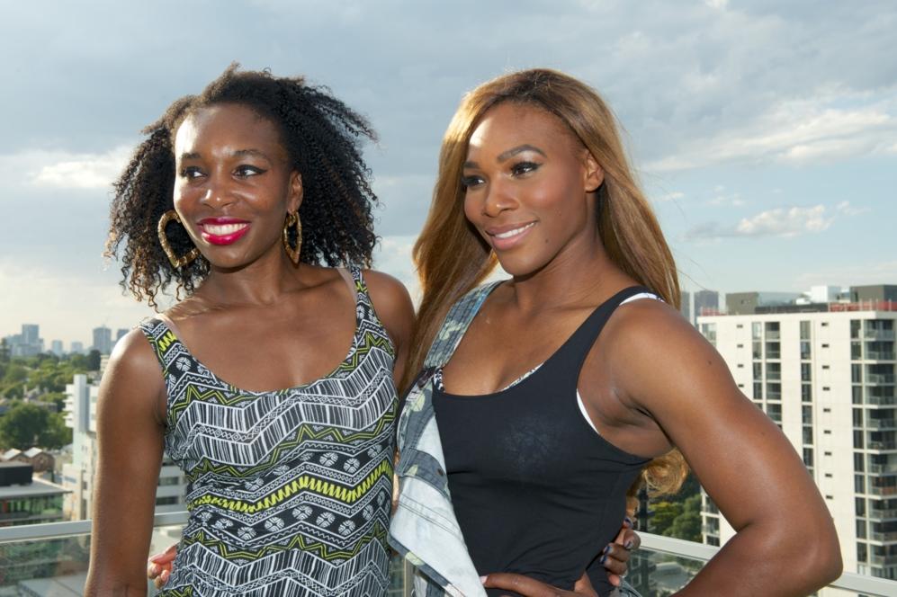 Serena y Venus Williams. Ni una competición de primer nivel sin las...