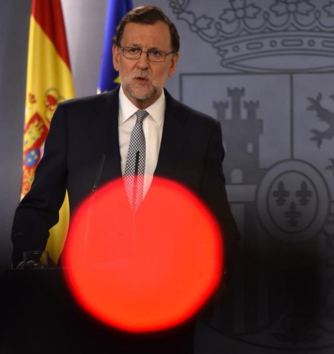 Mariano Rajoy en La Moncloa el pasado 28 de julio.