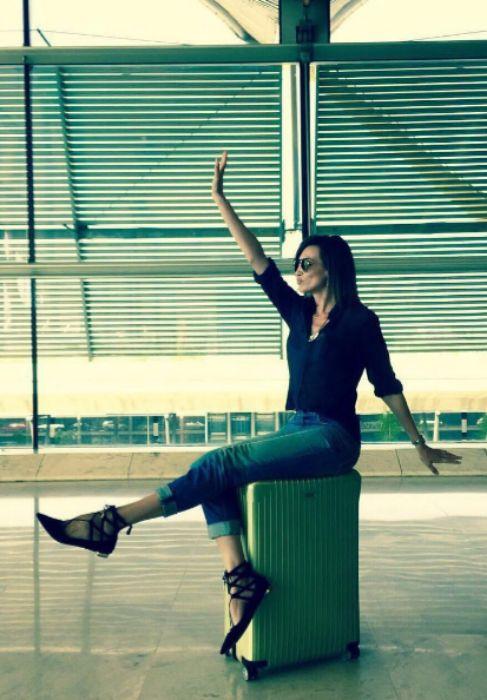 Algunos vuelven de vacaciones al trabajo y otros, como Nieves Álvarez...