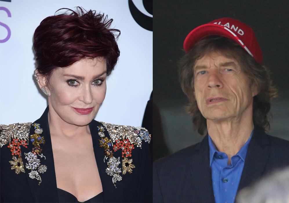 """Sharon Osbourne habla sobre los """"genitales arrugados"""" de Mick Jagger...."""
