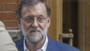 Mariano Rajoy, con Cospedal y otros de sus más estrechos...