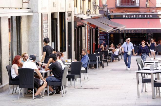 Concentración de bares y restaurantes en Huertas eab16e84330