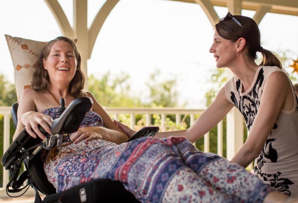 A Betsy le diagnosticaron Esclerosis Lateral Amiotrófica (ELA) en...