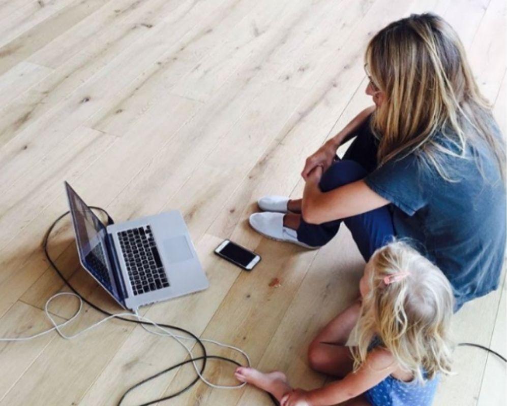 La modelo Vanesa Lorenzo está trabajando desde hace un año en un...