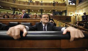 Mariano Rajoy, el pasado viernes en el Congreso.