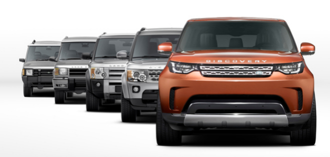 Evolución histórica Land Rover Discovery