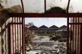 Ruinas industriales de la empresa Babcock & Wilcox al otro lado de la...