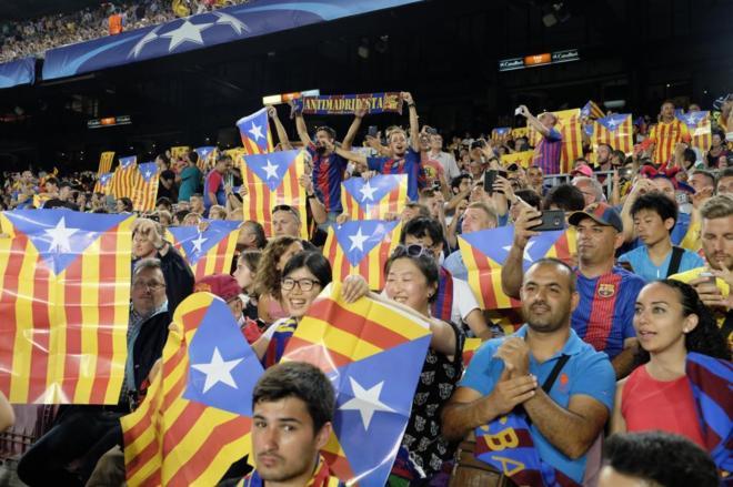 Champions League  Clamor independentista y desafío a la UEFA en el ... 4f5b4f4d839