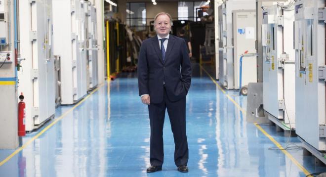 Ernesto Antolin, presidente ejecutivo del Grupo Antolin, en su...