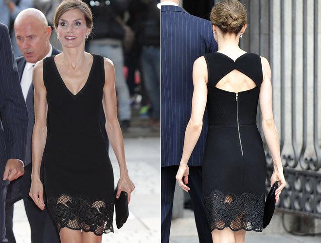 1e11cd4d7e313 El vestido con mensaje y polémica de la Reina Letizia en el Teatro Real