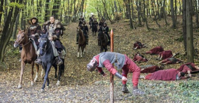 Imagen de la serie 'Bárbaros: el despertar', correspondiente al...