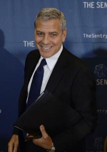 George Clooney. Tuvo que llegar Amal Alamuddin -ahora Clooney- para...