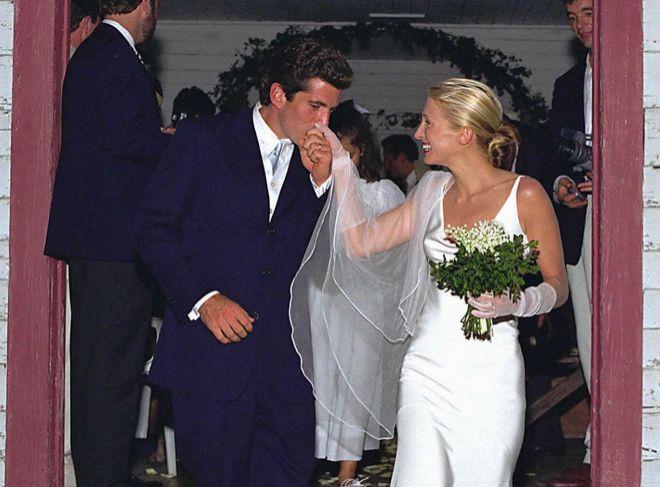 j. john kennedy y carolyne bessette: veinte años de la boda más