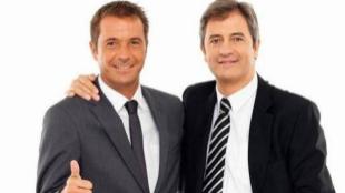 Manu Carreño (izda.) y Manolo Lama, cuando eran 'Los Manolos'.