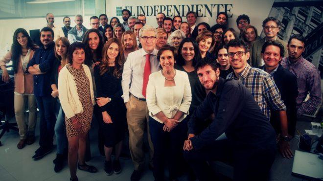La redacción de 'El Independiente'.