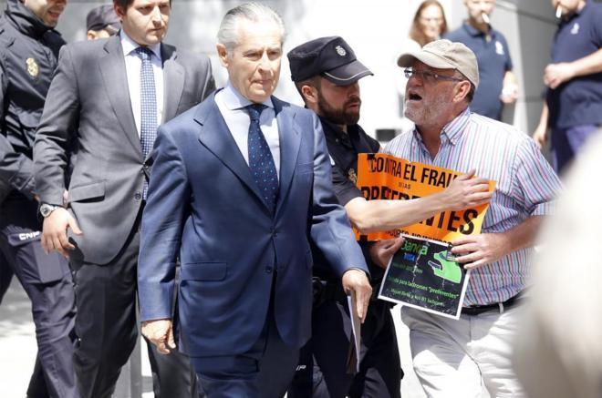 Miguel Blesa, expresidente de Caja Madrid, uno de los acusados.