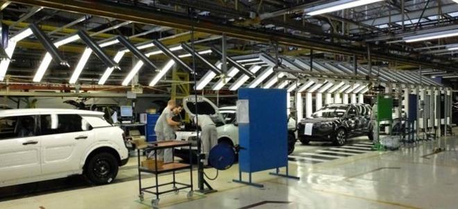 Centro de producción de Grupo PSA en Villaverde (Madrid).