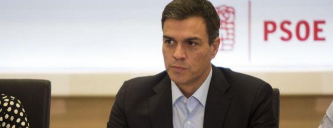 Pedro Sánchez, en la reunión de la Comisión Permanente de la...