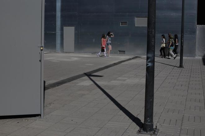 Terraza de la estacion de Chamartin en donde se abrirá la discoteca Station.