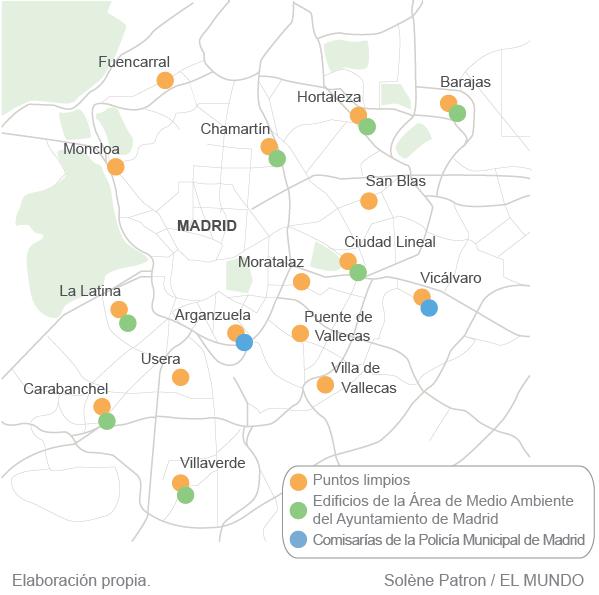 Los sucios puntos limpios de Madrid   Madrid Home   EL MUNDO