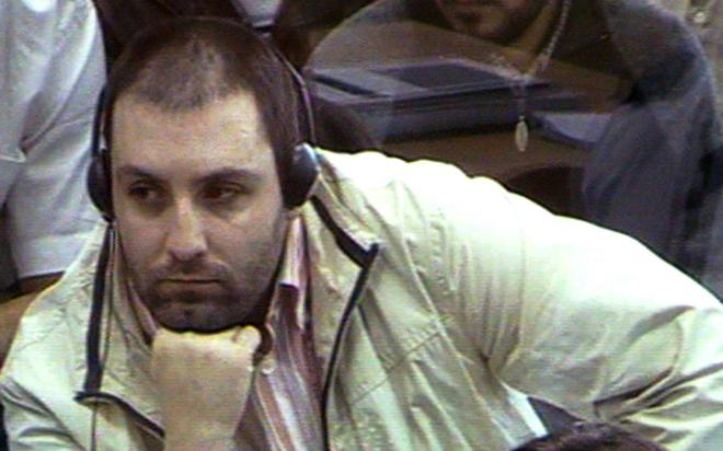 El condenado por el 11-M José Emilio Suárez Trashorras, en un momento del juicio por la masacre.