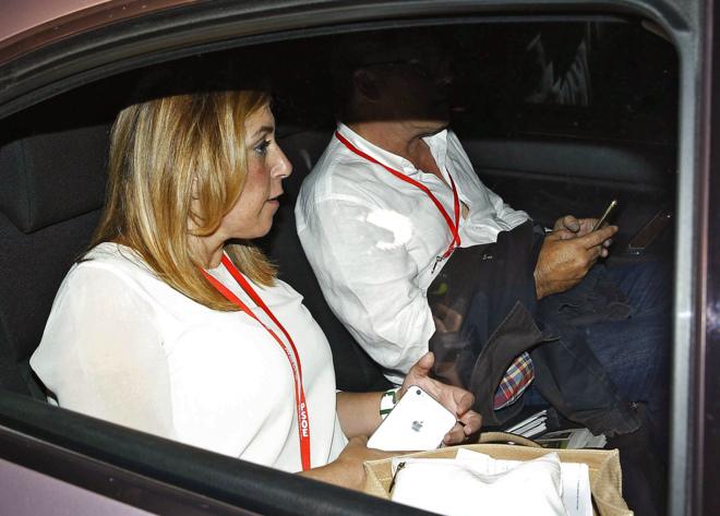 La presidenta de la Junta de Andalucía, Susana Díaz, el sábado.