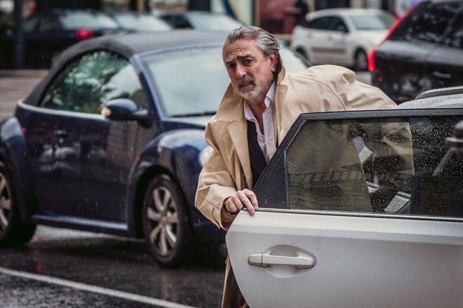 El principal acusado del 'caso Gürtel', Francisco Correa, en Valencia.