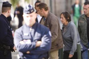 La juez francesa Laurecen Le Vert, en una operación contra ETA en...