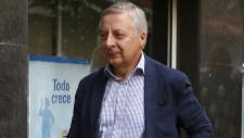 El eurodiputado socialista José Blanco se dirige a la reunión del...