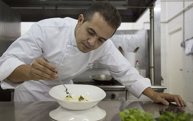 El chef Rachid Semlali, creador de la carta de 'First dates'.