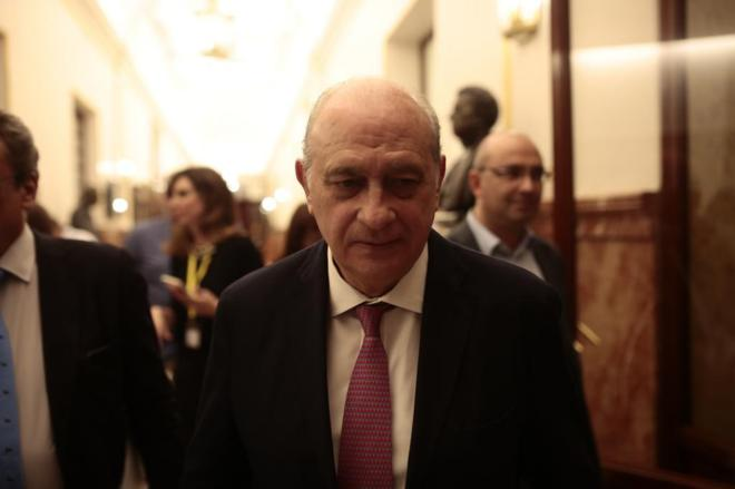 Jorge Fernández Díaz, ministro del Interior en funciones.