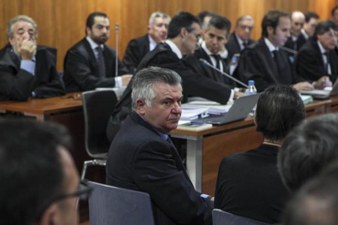 Juan Antonio Roca en la Audiencia de Málaga, el pasado mes de enero.