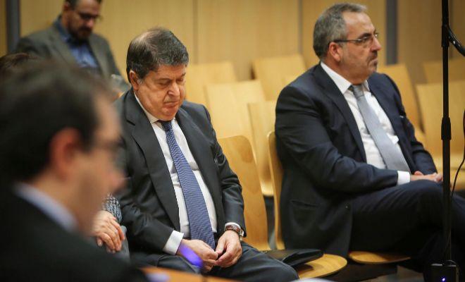 El ex presidente de la Generalitat, José Luis Olivas, y el empresario Vicente Cotino, sobrino de Juan Cotino.