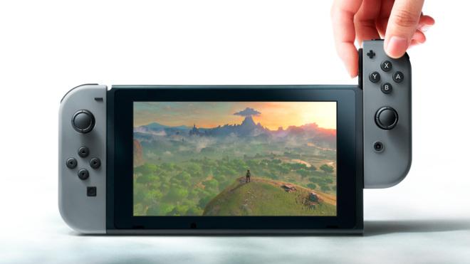 Switch, la nueva consola de Nintendo