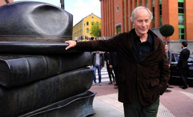 Richard Ford, el pasado jueves en Oviedo.