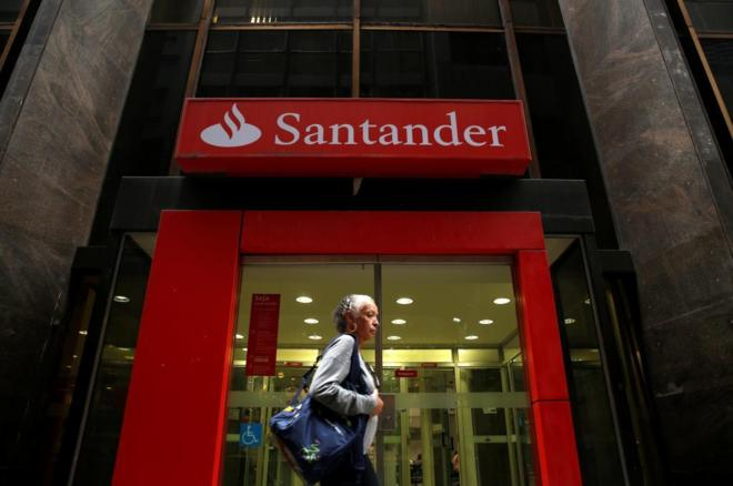 El Santander gana un 22,5% menos por la caída de los extraordinarios y la depreciación de las divisas