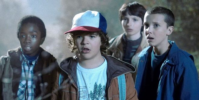 Imagen de 'Stranger Things', serie original de Netflix.