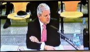 Pablo Crespo, durante su declaración ante el tribunal.