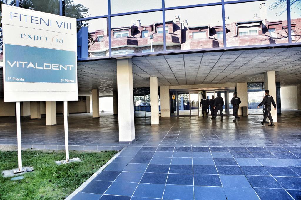 Registro de las oficinas centrales de Vitaldent, en La Rozas, en Madrid, hace un año.
