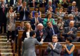 Antonio Hernando regresa a la bancada socialista después de su...