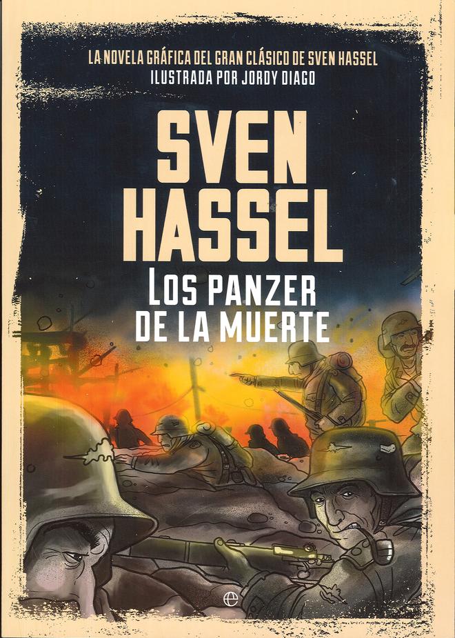 Portada 'Sven Hassel: Los panzer de la muerte'