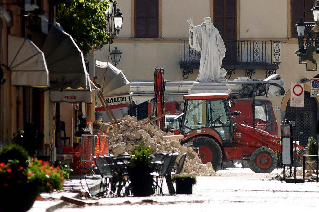 Las calles de la ciudad italiana se encuentran inundadas por los...