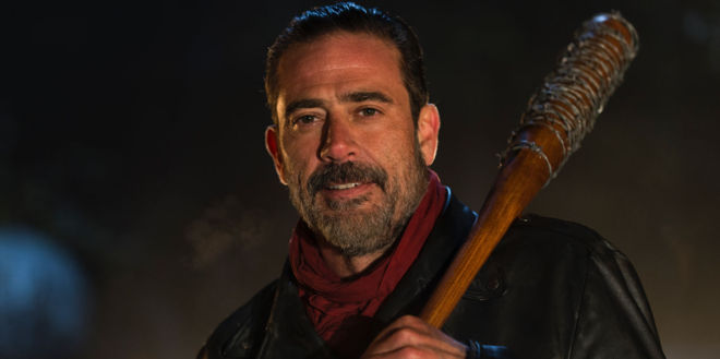 El personaje de Negan, en la serie 'The Walking Dead'.