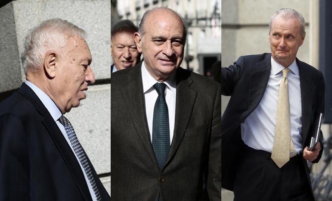 García-Margallo, Fernández Díaz y Pedro Morenés.