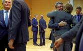 Álvaro Nadal es felicitado por su nombramiento, mientras Luis de...