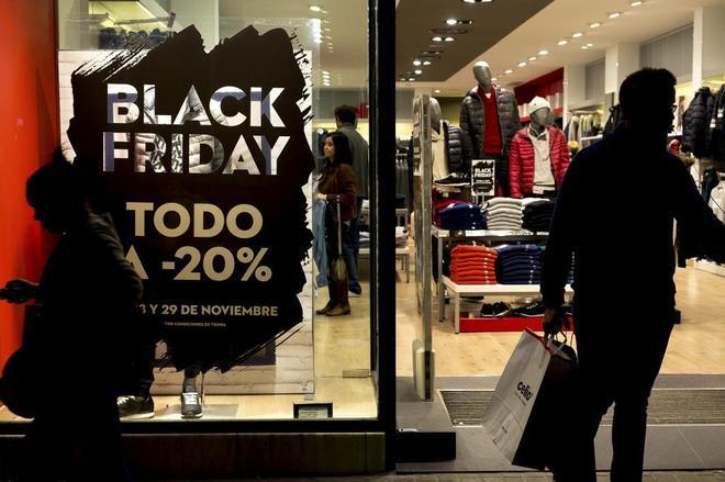 Jornada de 'Black Friday' el año pasado en España.