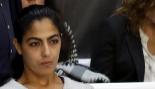 La marroquí Samira Yerou durante el juicio celebrado hoy en la...
