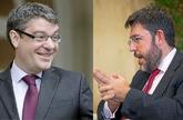 Álvaro Nadal (i), ministro de Energía, Turismo y Agenda Digital, y...