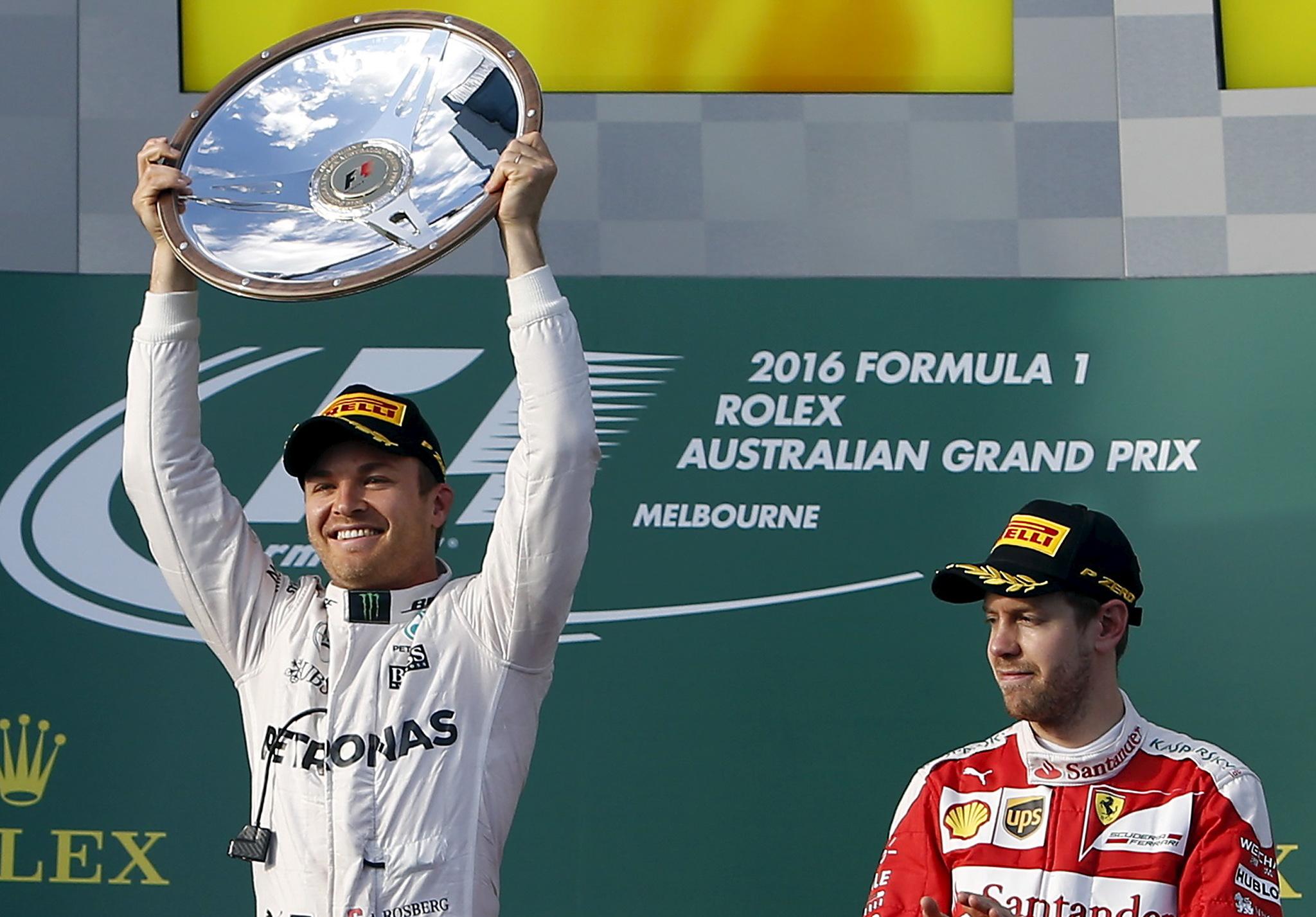 El Gran Premio de Australia (20 de Marzo) era la primera carrera de la...