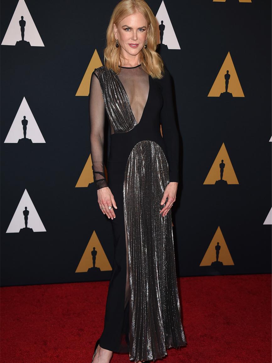 Nicole Kidman, presentadora de la gala, triunfó con un vestido muy...